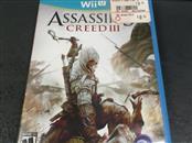 NINTENDO Nintendo Wii U Game ASSASSIN'S CREED III